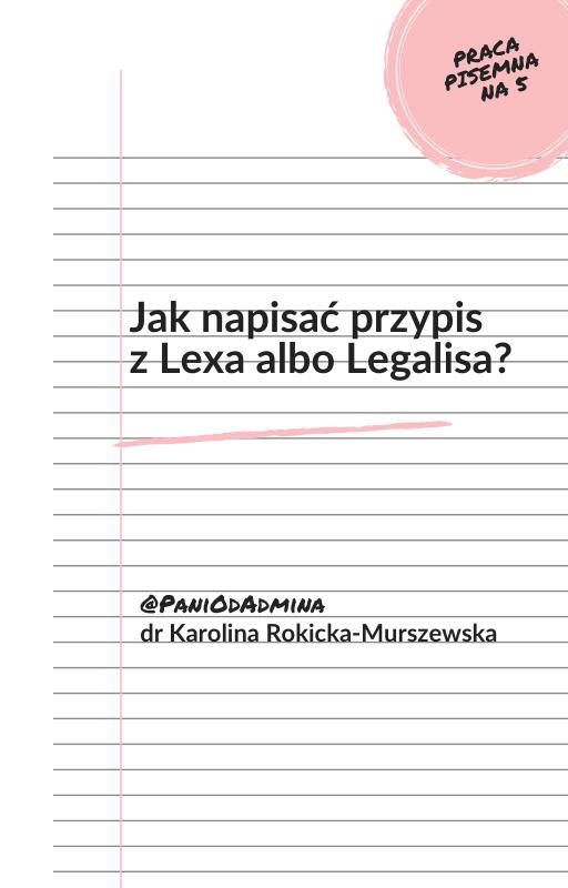 ebook przypisy LEX Legalis